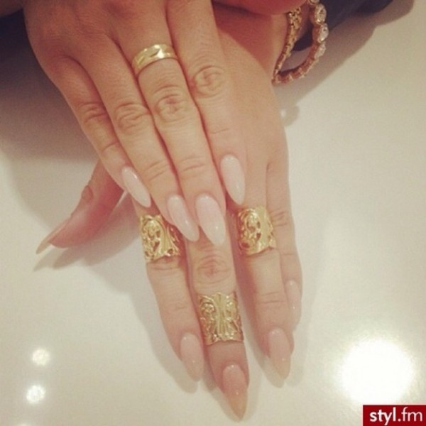 jewels ring rings and tings gold ring gold jewelry nail polish nails