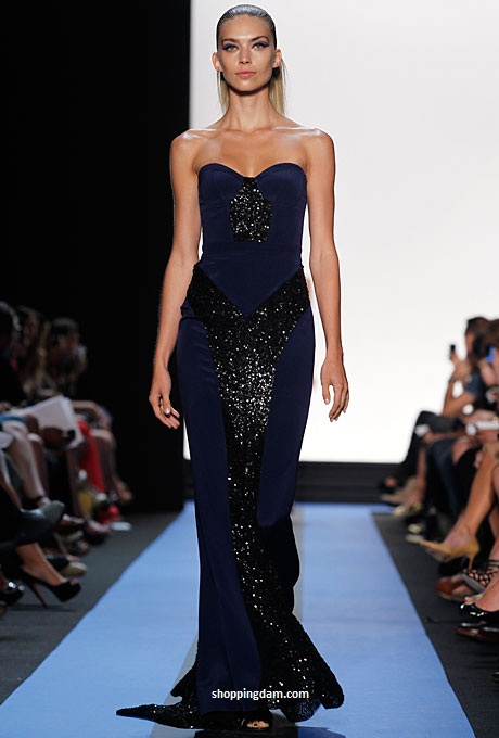 Spring 2012 ready to wear monique lhuillier prom dresses