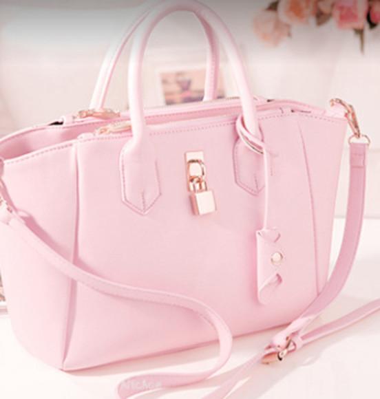 bag pink bag girly vintage swag