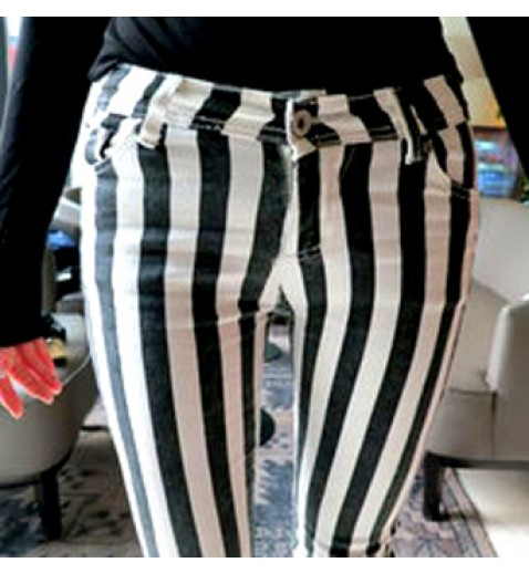 Vertical Striped Skinnies