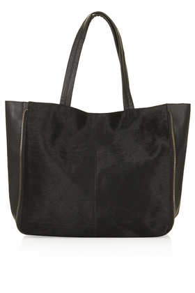 Ponyhair Shopper Bag - Bags & Purses  - Bags & Accessories  - Topshop