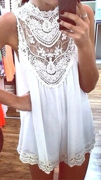 boho boho dress lacedress white dress