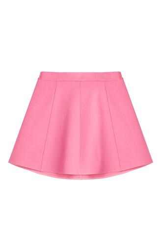 skirt cotton rose