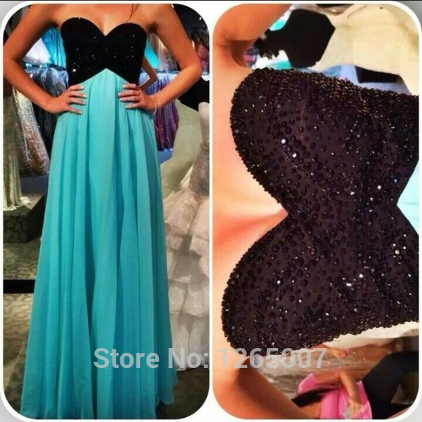 Aliexpress.com : Buy Sweetheart Blak Beaded Diamond Top Ruffles A Line Prom Dress Long Dress Special Occasion from Reliable diamond shaped face men suppliers on SFBridal
