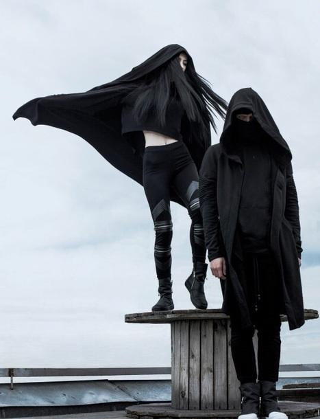 Jeans Black Street Goth Streetstyle Dark Tumblr Aesthetic