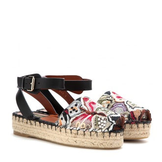 shoes espadrilles embroidered