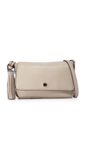 cross mini bag grey