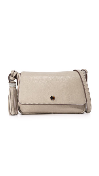 Elizabeth And James Finley Mini Cross Body Bag - Dove Grey