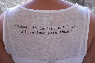 shirt quote on it