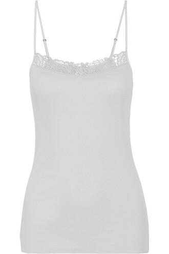 camisole light lace cotton underwear
