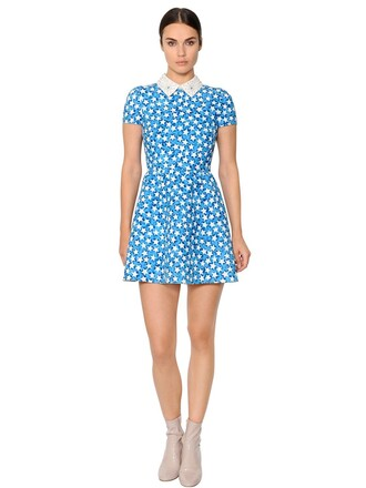 dress couture dress couture stars white blue