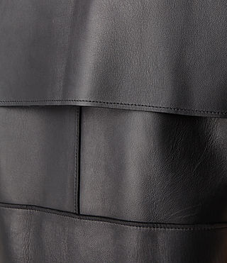 Womens Maera Leather Jacket (Black) | ALLSAINTS.com
