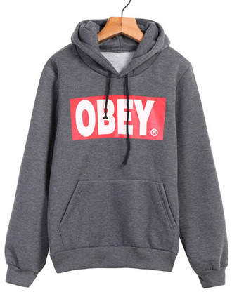 sweater sweat obey gris