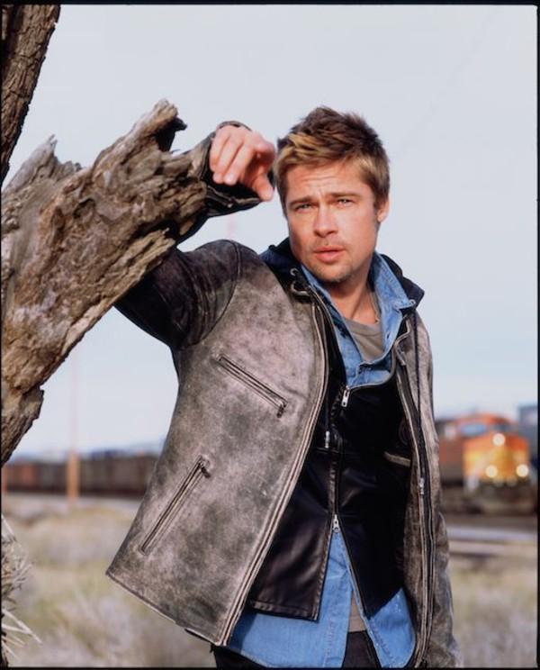 Jacket Mr And Mrs Smith Leather Jacket Brad Pitt