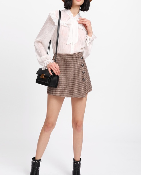 skirt girly mini mini skirt button up button up skirt plaid plaid skirt