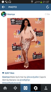 skirt,Mya,gold sequins,light pink,beige skirt,celebrity style,classy dress,blouse