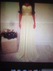 dress,white dress long,belt,shiny belt,cream