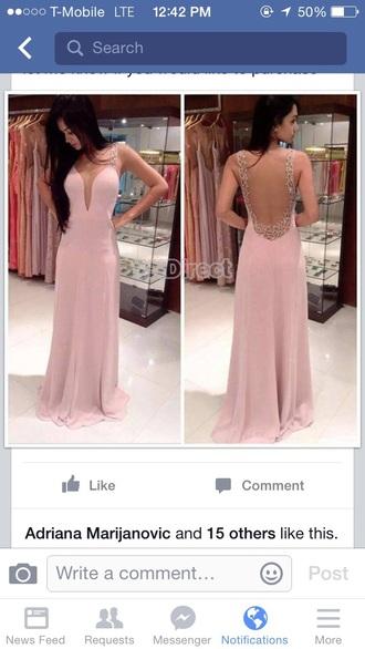 dress prom dress long prom dress pink dress formal dress