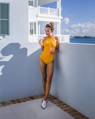 not jess fashion blogger swimwear jewels