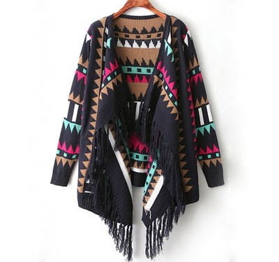 Tribal pattern cardigan sweater · fashion struck · online store powered by storenvy