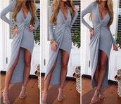 beach dress,maxi dress,casual dress,v neck dress,long sleeves,cotton dress..,summer beach dress color tropical green