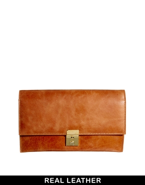 ASOS | ASOS Leather Purse Travel Wallet at ASOS