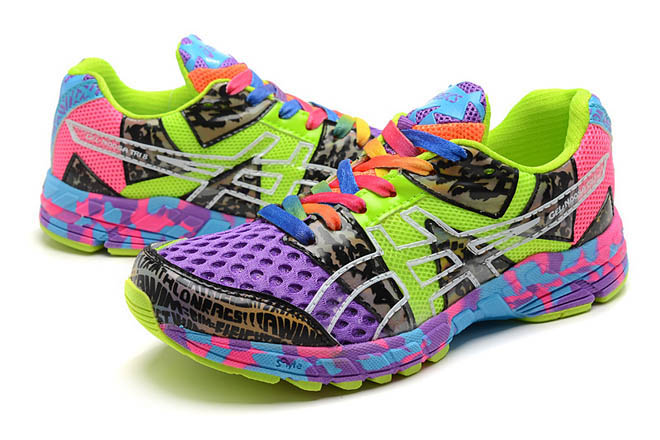 Women's Asics Gel Noosa TRI 8 Purple Green Shoes