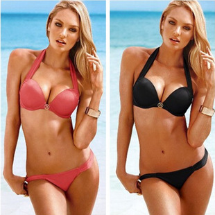 2014 hot sale bikinis for women sexy push up bikini swimwears summer girls swimsuit sexy beachwear bathing suit two pieces-in Bikinis Set from Apparel & Accessories on Aliexpress.com