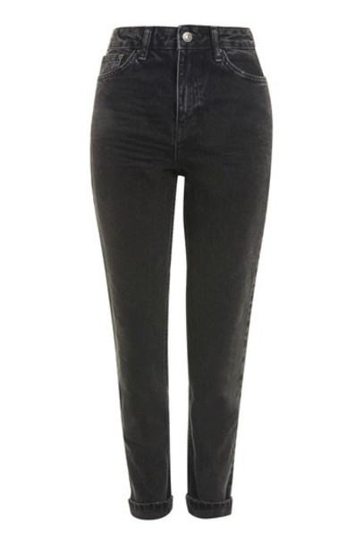 Topshop jeans mom jeans black