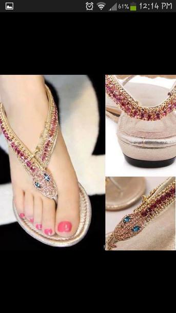 shoes gems sparkle