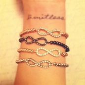 jewels,black jewels,gold jewelry,gold,silver,infinity