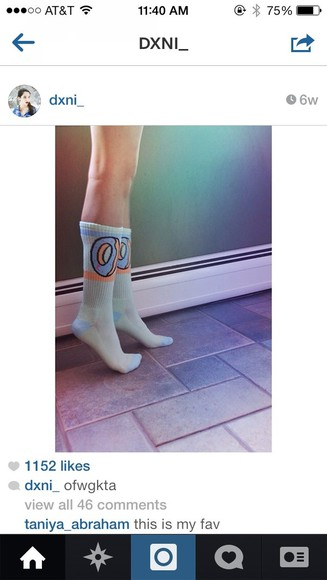 donut underwear socks