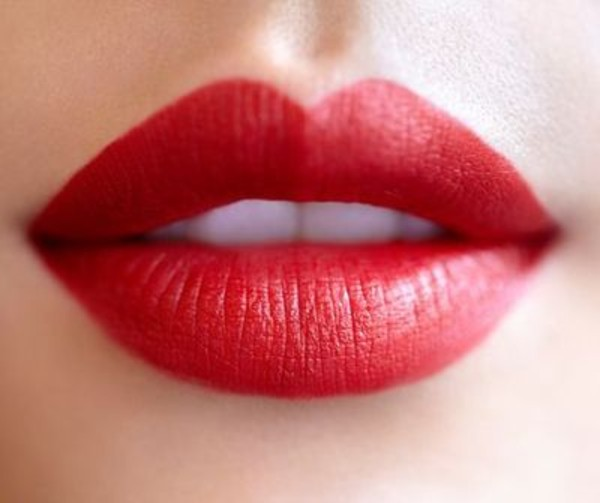 nail polish colorful red lips lipstick red lipstick