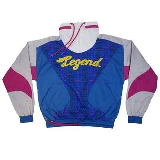 jacket blue jacket dolphin pink dolphin legend pink