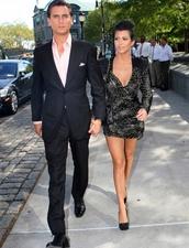 dress,kourtney kardashian,scott disick,black,sexy,little black dress,couple,keeping up with the kardashians,beautiful