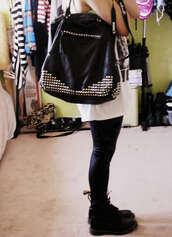 studded bag,bag