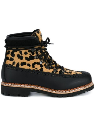 women boots lace up boots lace leather black wool shoes
