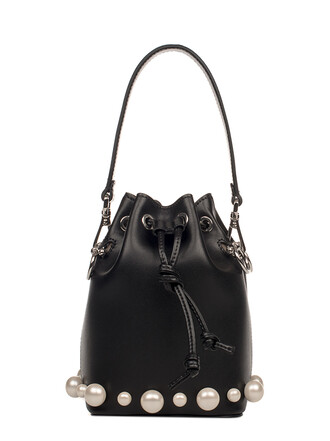 bag leather black