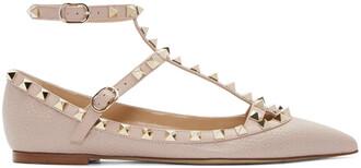 flats pink shoes
