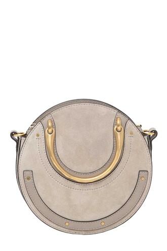 bag suede grey