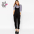 Haoduoyi Women Preppy style Pocket long Pants jumpsuits Fashion Casual Adjustable Rompers for wholesale-in Jumpsuits & Rompers from Women's Clothing & Accessories on Aliexpress.com | Alibaba Group