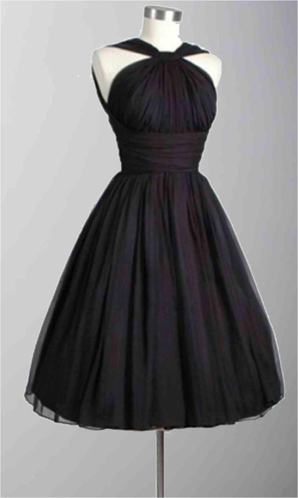 short prom dress black gown halter top ruched dress little black dress short bridemaid dresses tulle skirt tulle dress