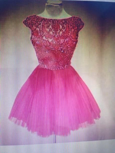 Pink Frilly Dress | But Dress