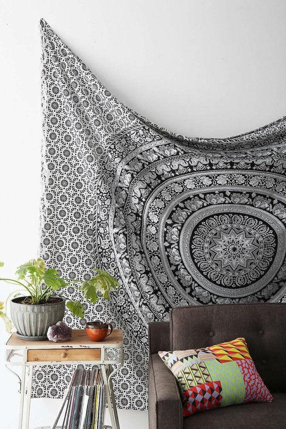 Elephant Wall Decor wall hanging - wall decoration, mandala tapestry, hippie throws
