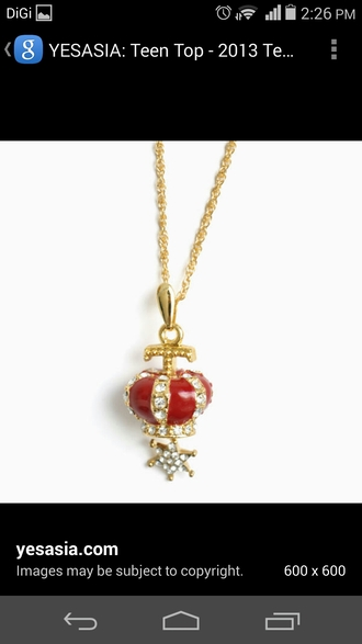 home accessory gold necklace