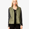 Faux leather sleeve utility jacket | forever 21 - 2023229863