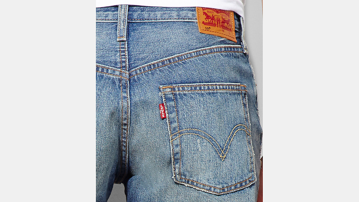 501 Shorts | Boomtown | Shorts | Clothing | Women | Levi's | Great Britain (UK)
