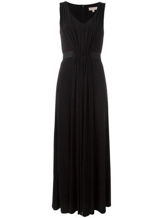 dress evening dress long women spandex black