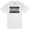 Parental advisory white t-shirt - basic tees shop