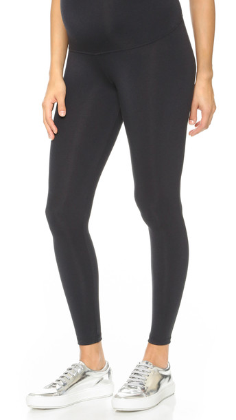 David Lerner Maternity Leggings - Black